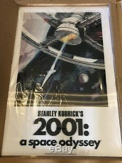 2001 Space Odyssey BottleNeck BNG Lenticular Print Poster X/300 COA Sold Out