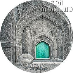 2020 Palau TIFFANY ART SAFAVID 2oz 50mm Silver Coin $10 SOLD OUT FINAL EDITION