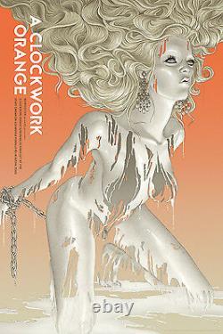 A clockwork orange by Rory Kurtz Artist Proof Signed Rare sold out Mondo