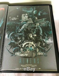 ALIENS This Time It's War VANCE KELLY, Rare sold out Print from HCG, NT MONDO