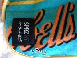 ANDY WARHOL x Uniqlo MoMA SPRZ Campbell's Soup Can Fleece Blanket NWT SOLD OUT