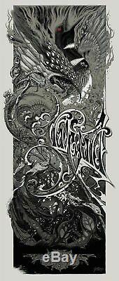 Aaron Horkey Brandon Holt Print Graveyard Poster SOLD OUT! The Vacvvm