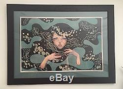 Audrey Kawasaki Deep Waters Print 30x20 Framed, Numbered & Signed Sold Out