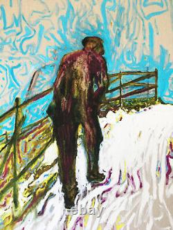 BILLY CHILDISH SIGNED & NUMBERED PRINT Chatham Series LTD EDITION Sold Out 36/50
