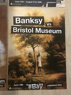 Banksy Bristol Museum Posters Graffiti Street Art Pop Art Mint Sold Out