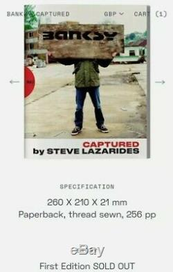 Banksy Captured Original 1st Edition By Steve Lazarides Sold Out Rare