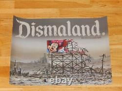 Banksy Dismaland Poster Print Jeff Gillette Out of Print Sold Out MINT