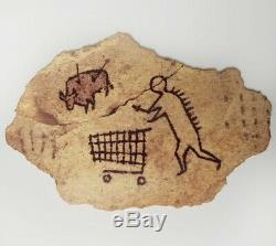 Banksy Gross Domestic Product, SOLD OUT Peckham Rock Wooden Sculpture