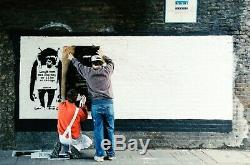 Banksy Tee T-shirt SOLD OUT Limited 100 ed. CLOWN 200820 Size L