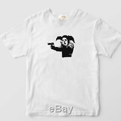 Banksy Tee T-shirt SOLD OUT Limited 200 ed. Clown Skateboards Size M