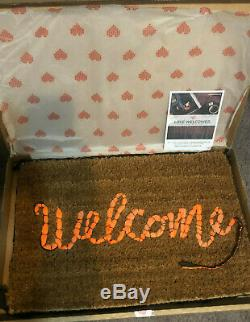 Banksy Welcome Mat Gross Domestic Product Love Welcome Sold Out Numbered