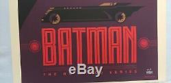 Batman Animated Series Tom Whalen Sold out Mondo print