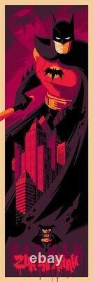 Batman by Tom Whalen Sold out Mondo prints Set of 3 prints