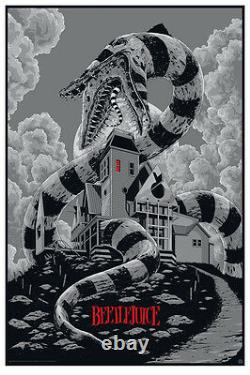 Beetlejuice by Ken Taylor Variant Rare sold out Mondo