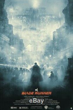 Blade Runner Karl Fitzgerald sold out screenprint Not Mondo