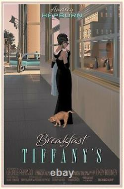 Breakfast at Tiffany's by Laurent Durieux Very Rare Sold Out Not Mondo Print
