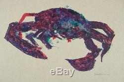 CHARLES BLACKMAN'Crab II from Rainforest' signed ORIGINAL almost sold out