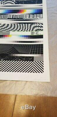 CHROMADYNAMICA 61 by FELIPE PANTONE fine art print SOLD OUT! Obey giant banksy