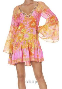 Camilla A-Line Gathered Panel Dress Hairhairhair SIZEXS (Sold Out)RRP$699