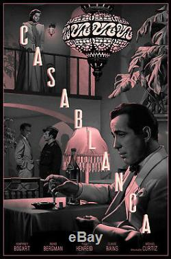 Casablanca by Rory Kurtz Variant Very rare Artist Proof Sold out Not Mondo