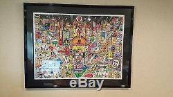 Charles Fazzino Sold Out 3D Pop Art Works