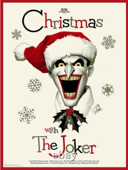 Christmas With The Joker Mondo Batman Print Sold Out / Limited Edition