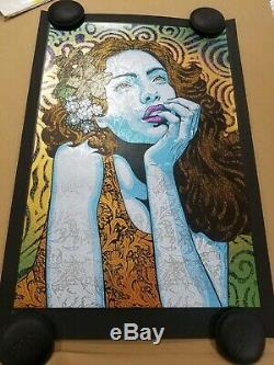 Chuck Sperry Dreamer Variant Print on BLACK PAPER #/20 SOLD OUT not Agape Music