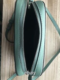 Coach Disney X Coach Mini Camera Bag With Tiana Washed Green C3405 SOLD OUT NWT