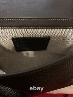 Coach X Jean-Michel Basquiat Black Leather Side Bag Leather With Strap Sold Out
