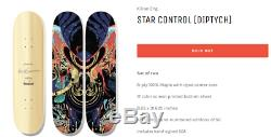 Confirmed SOLD OUT Rampant X Kilian Eng STAR CONTROL Deck Art Set LE 50