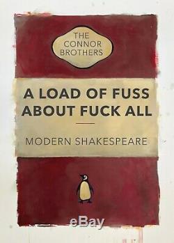 Connor brothers Loaf Of Fuss. Sold Out, Banksy, Harland Miller, Retna, Invader