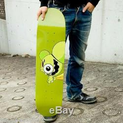 DALEK x Cerealart'Space Monkey (Green)' 2004 Skateboard Skate Deck Sold-Out NEW