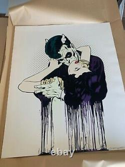 DFACE BEND EMBRACE Signed Print #/135 DFACE SOLD OUT MINT STORED FLAT