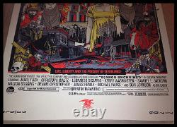 DJANGO UNCHAINED BY TYLER STOUT SCREEN PRINT MONDO Rare & Sold Out