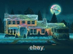 DKNG Christmas Vacation Foil Variant Poster Print Art AP Bottleneck SOLD OUT