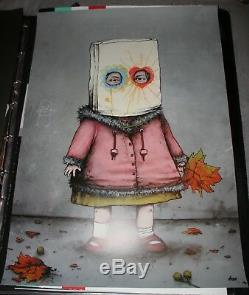 DRAN GAMINE Poster RARE SOLD OUT not banksy dolk kaws fairey obey mbw keyes