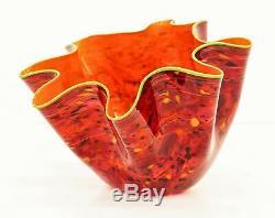 Dale Chihuly Fiesta Macchia Sold Out Portland Press Studio Edition glass art