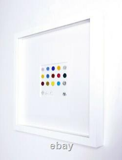 Damien Hirst, Textile spots, signed in print, Other Criteria, sold out