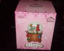 Disney Art of Aurora Sleeping Beauty Limited Edition Snow Globe NEW SOLD OUT