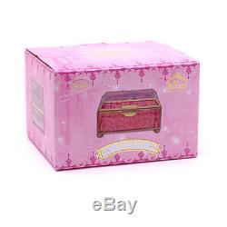 Disney Store Art of Aurora Glass JEWELRY Trinket BOX Sleeping Beauty Sold Out