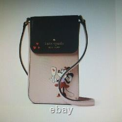 Disney x Kate Spade Minnie Mouse North South Phone Crossbody NWT $169 SOLD OUT