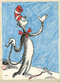 Dr. Seuss The Cat That Changed the World -RARE SOLD OUT Framed Make Offer