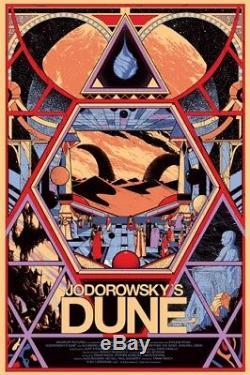 Dune Jodorowsky by Killian Eng Rare Sold out Mondo print