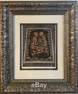 EMEK Signed #d Art Print Eternal Embrace Pearl Jam Poster Rome Roma Sold Out