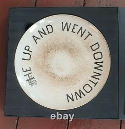 Ed Ruscha Limited Edition Plate Coalition for the Homeless. Sold out