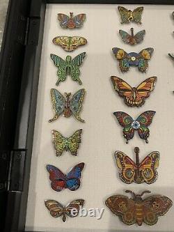 Emek Grateful Dead Butterfly Dead & Company Pin Set Art Ed. 150 Sold Out VIP Tour