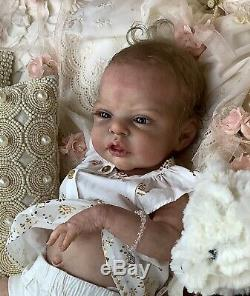 Esme Reborn Baby Doll Lifelike Rare Art Doll by Laura Lee Eagles LONG SOLD OUT