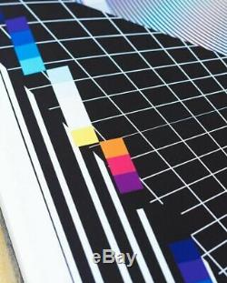 FELIPE PANTONE OPTICHROMIE 111 Signed Print x150 SOLD OUT IN HAND