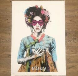 FINDAC SONYEO WHITE ED OF 175 Sold Out Print