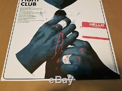 Fight Club Print Poster by Matt Taylor Gen Con Mondo GID Sold Out xx/250